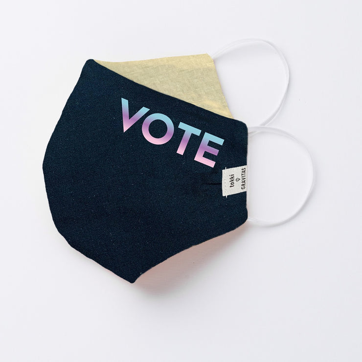 Tokki X Gravitas Face Masks - The VOTE Collection