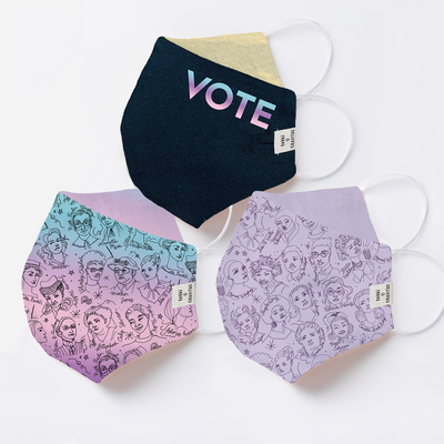 Tokki x Gravitas Face Mask - The VOTE Collection