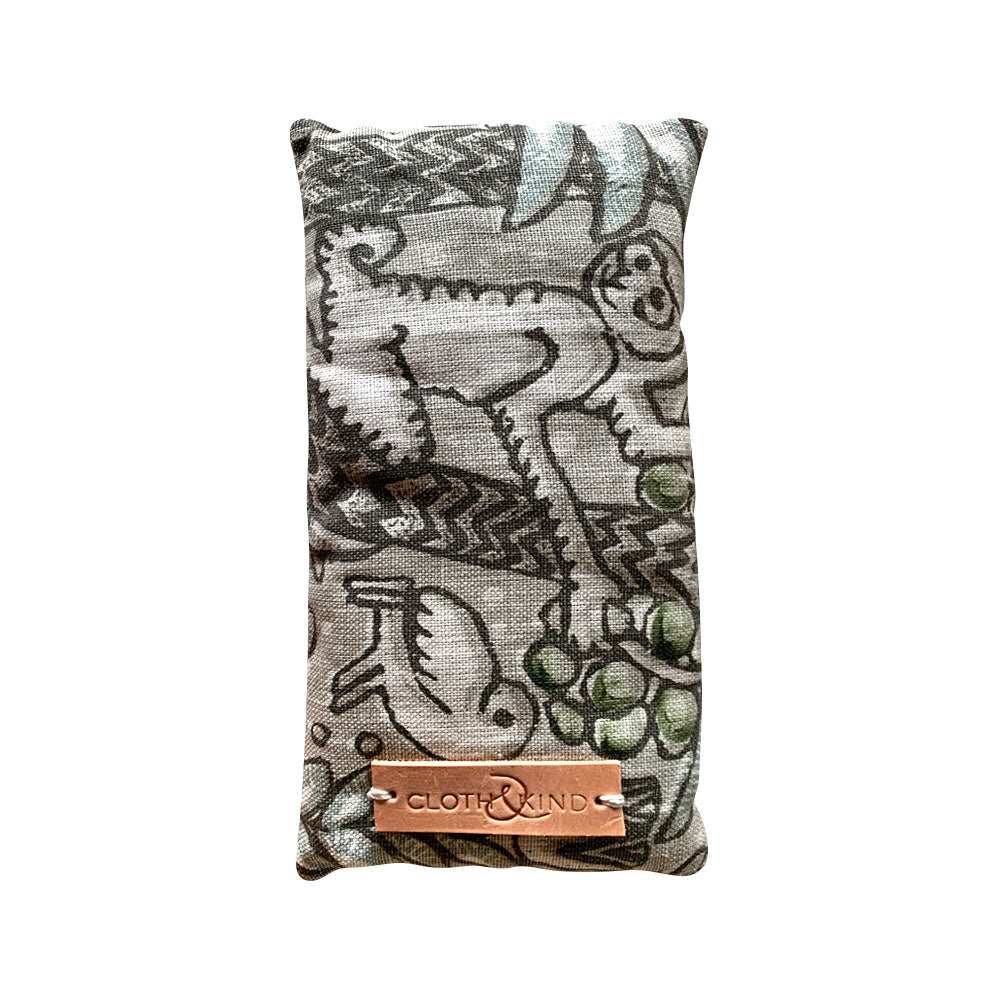 Organic Lavender Eye Pillow in Jungle Fever
