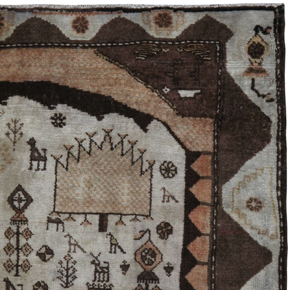 Antique Gabbeh Rug