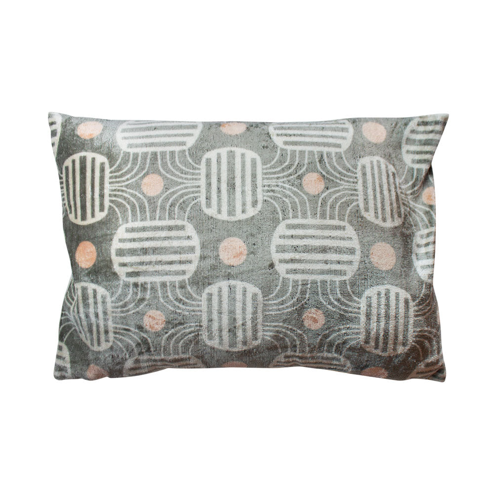 Channels Silk Lumbar Pillow // CLOTH & KIND