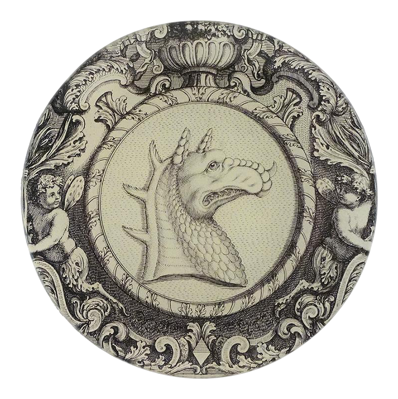 Dragon Round Tray