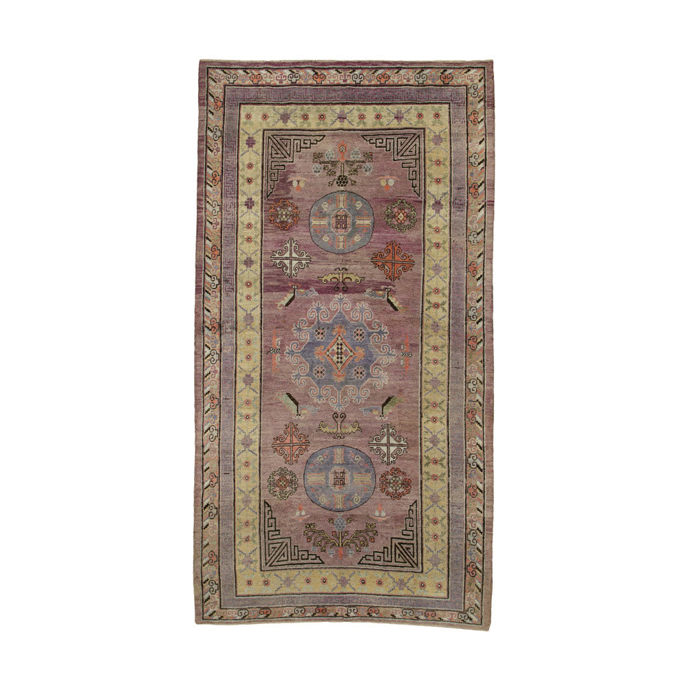 Antique Khotan Gallery Rug