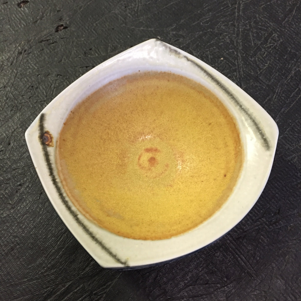 Mustard In The Middle Ceramic Dish