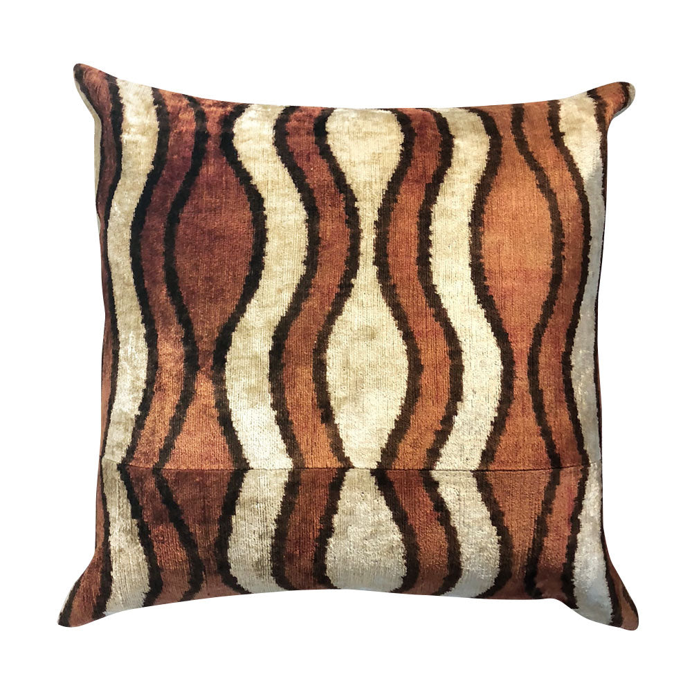 Amber Waves Silk Pillow // CLOTH & KIND