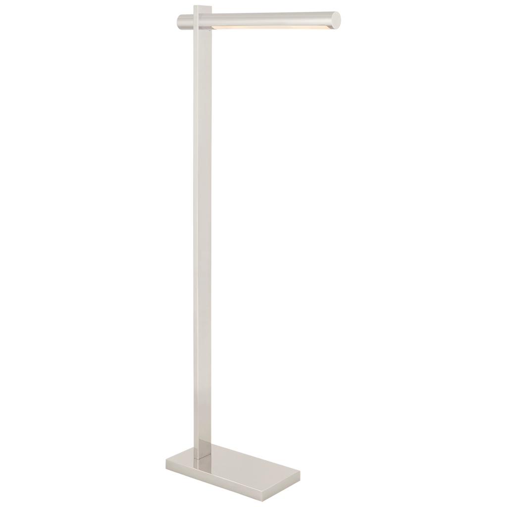 Axis Pharmacy Floor Lamp in Polished Nickel