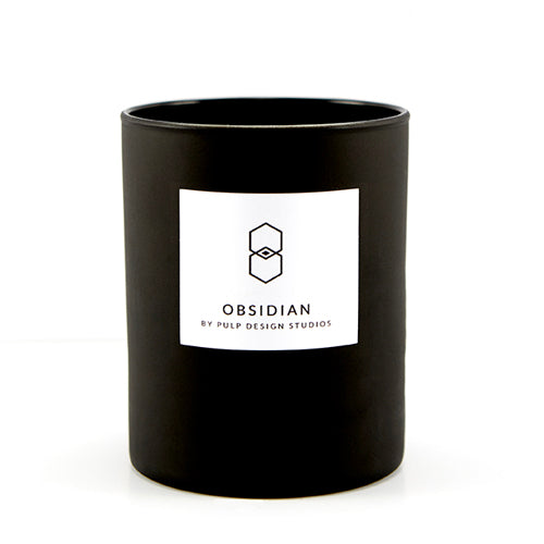 Obsidian Candle