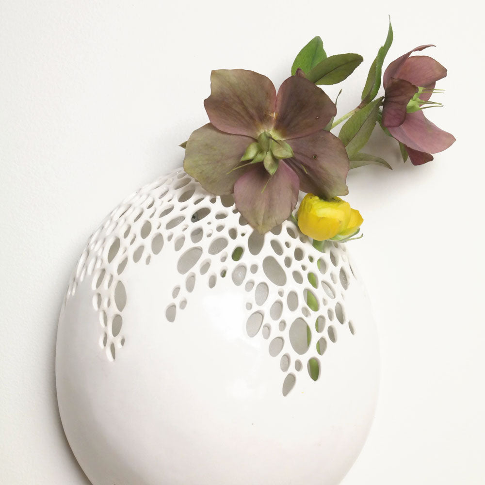Bubble Vase Wall Hanging Large // CLOTH & KIND
