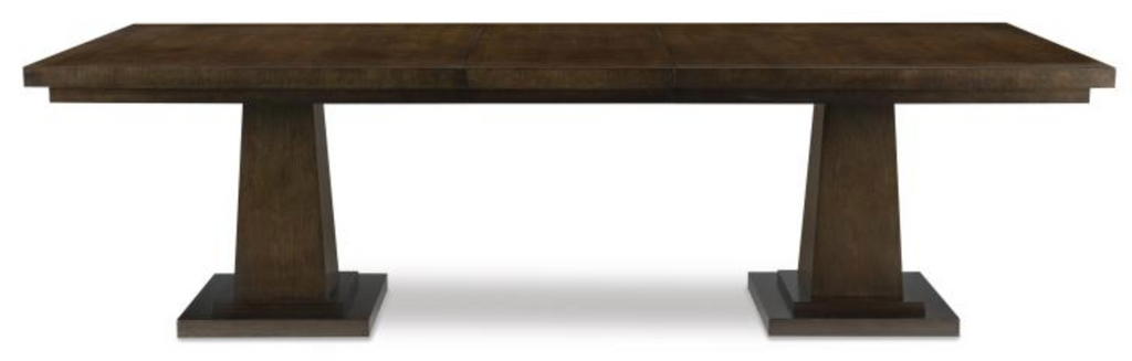 Germain Dining Table -HH19-73- Sierra Finish