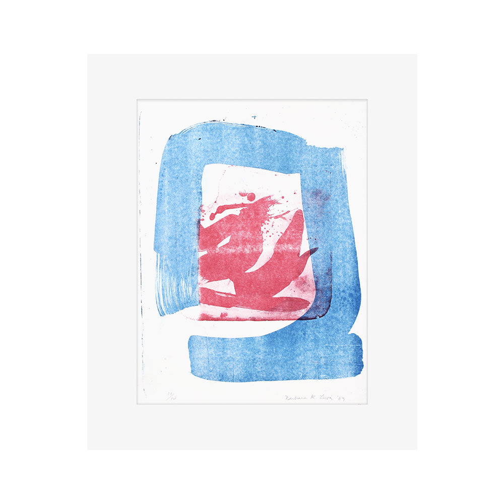 Cerulean Stone Lithograph // CLOTH & KIND