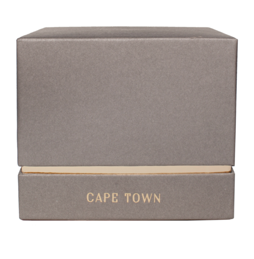 Hand Poured Double Wick Candle - Cape Town