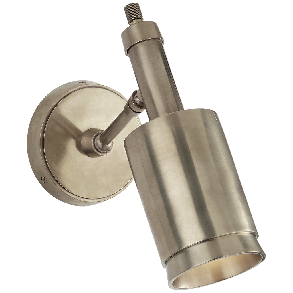 Anders Small Articulating Wall Light in Antique Nickel
