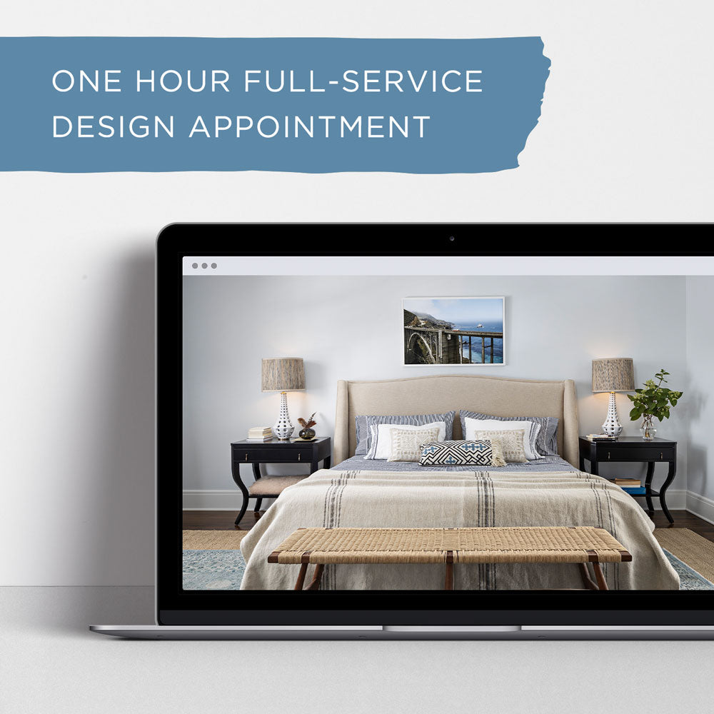 One Hour Full-Service Design Appointment with Krista & Tami