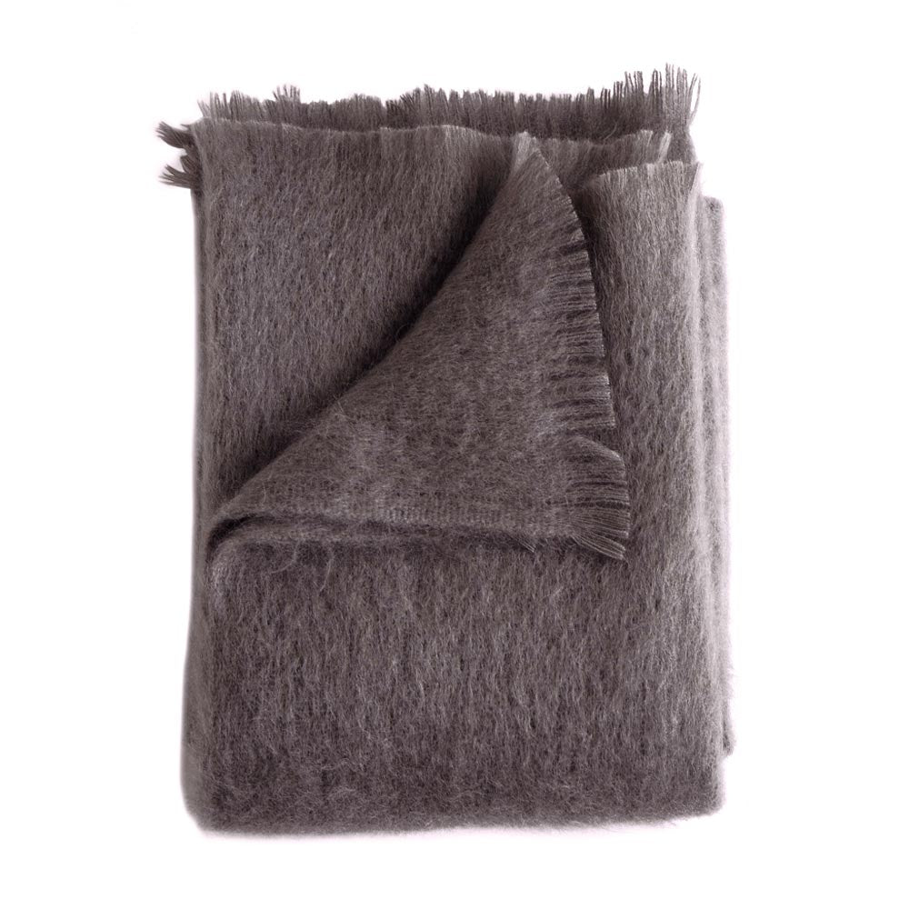 Amethyst Mohair Throw // CLOTH & KIND