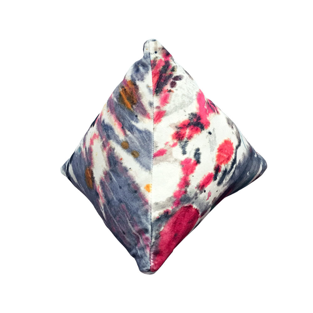 Watercolor Pyramid Pillow