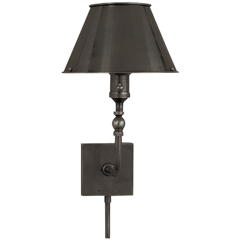 Swivel Head Wall Lamp in Bronze