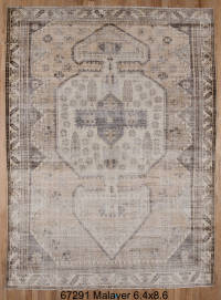 Faded Malayer Rug // CLOTH & KIND