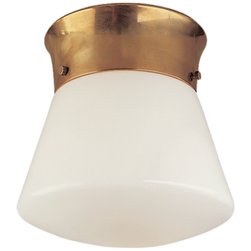 Perry Ceiling Light in Hand-Rubbed Antique Brass