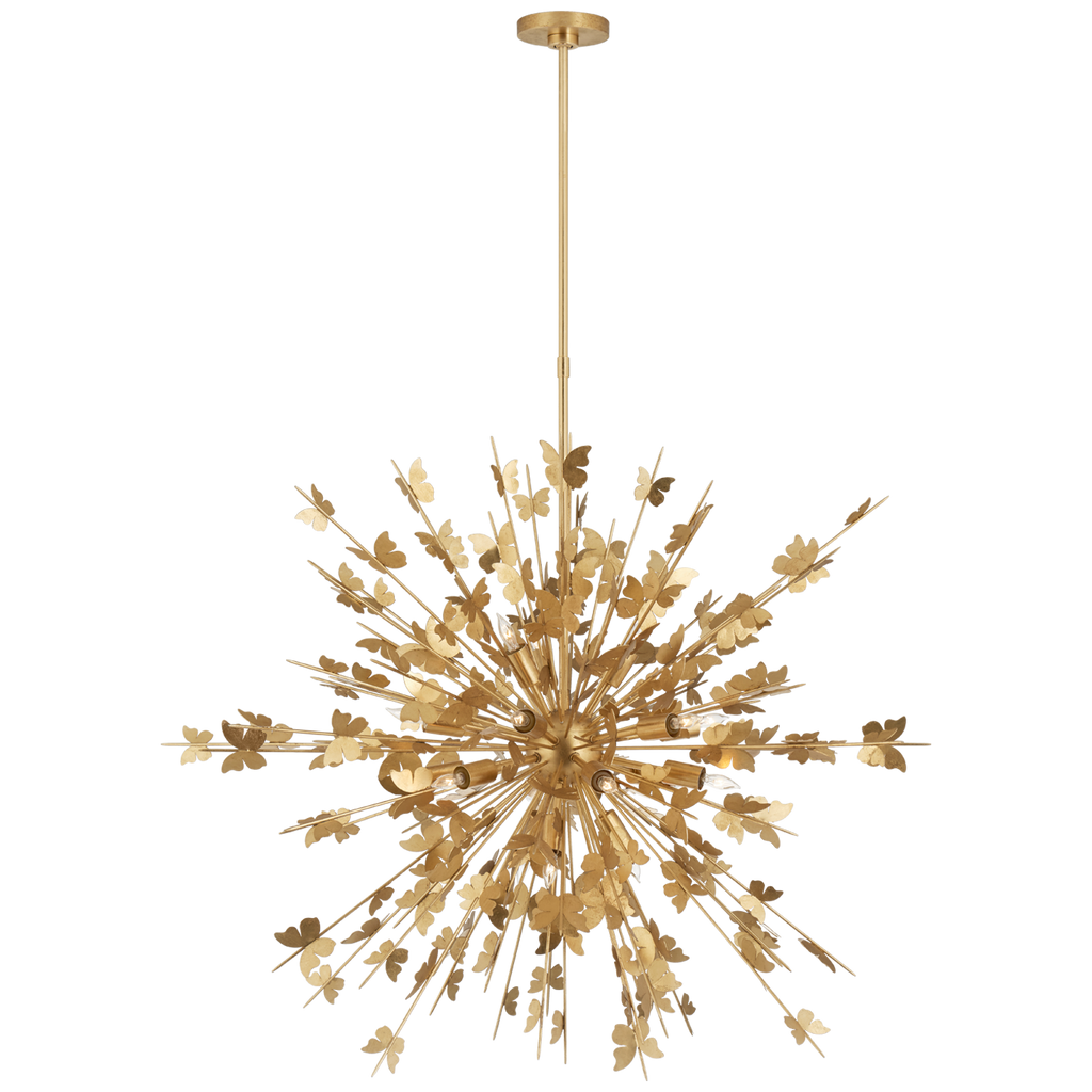 Farfalle Large Sconce in Gild