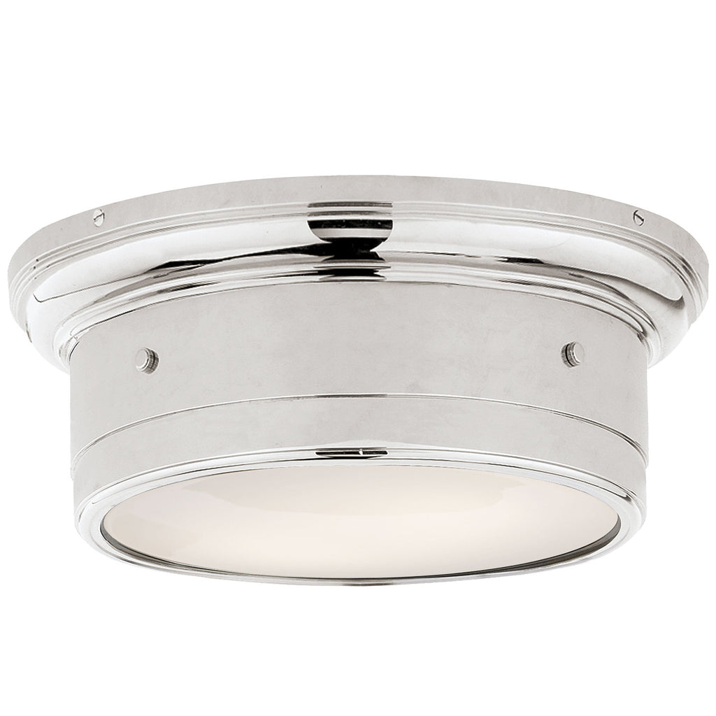 Siena Small Flush Mount in Polished Nickel