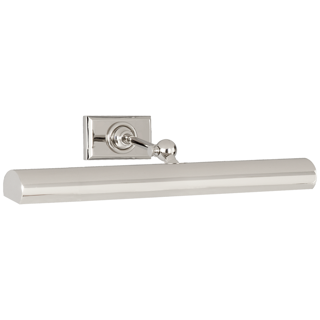 "18"" Cabinet Maker's Picture Light in Polished Nickel"