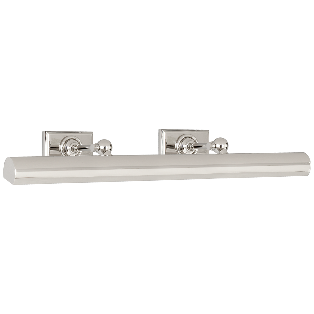 "24"" Cabinet Maker's Picture Light in Polished Nickel"
