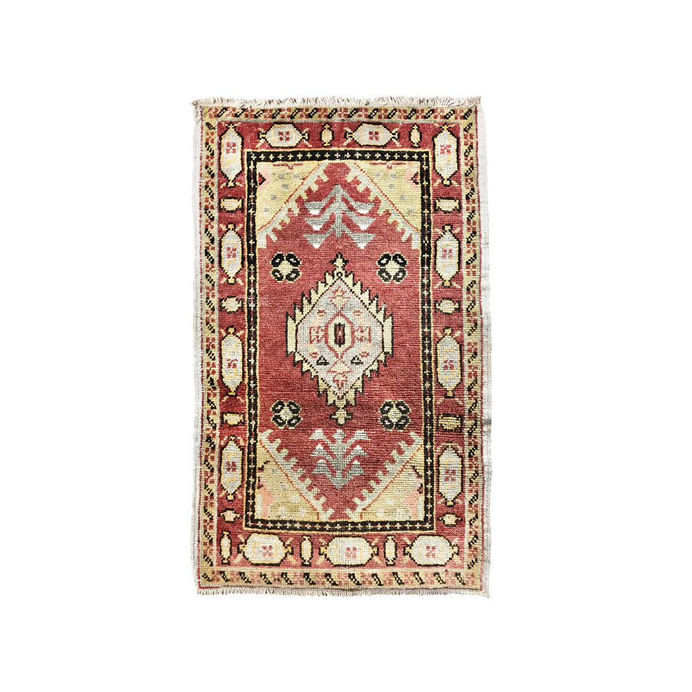 Antique Terracotta Oushak Mat // CLOTH & KIND