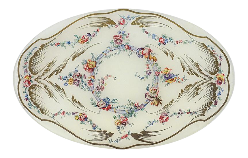 Sevres Deep Oval Plate