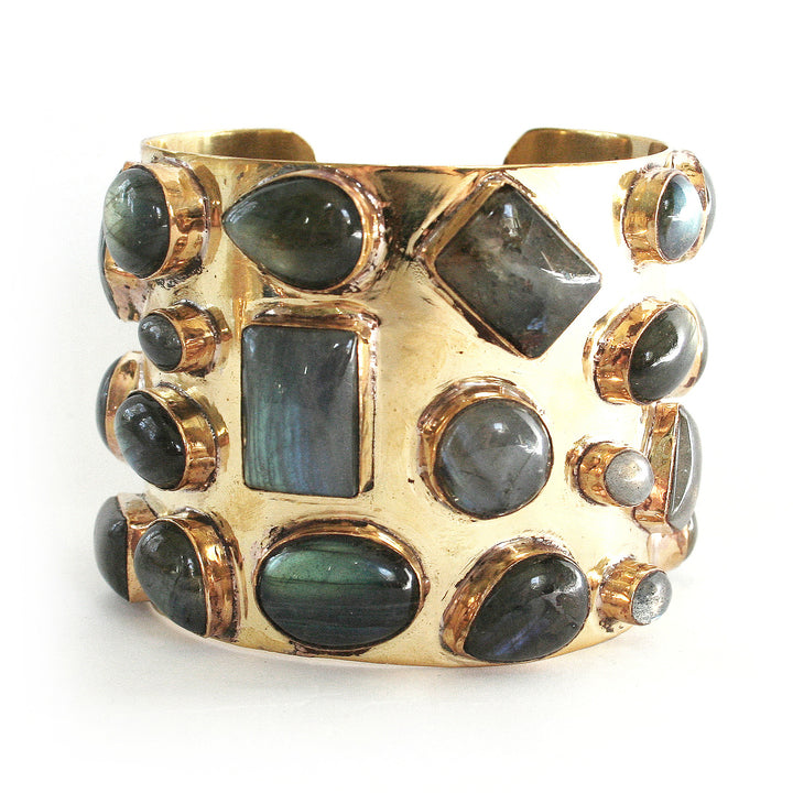 Bendall Cuff - Labradorite // CLOTH & KIND