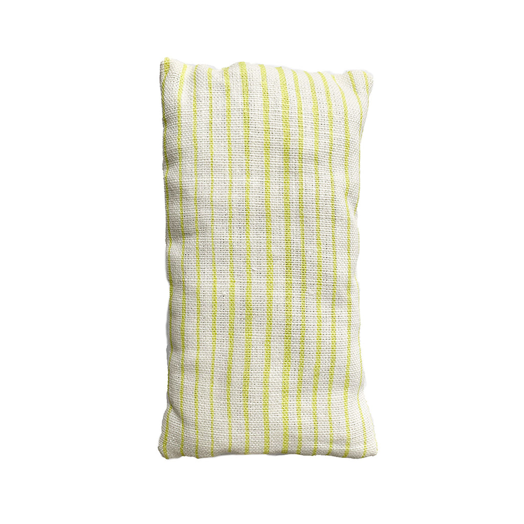 Organic Lavender Eye Pillow in Common Stripe