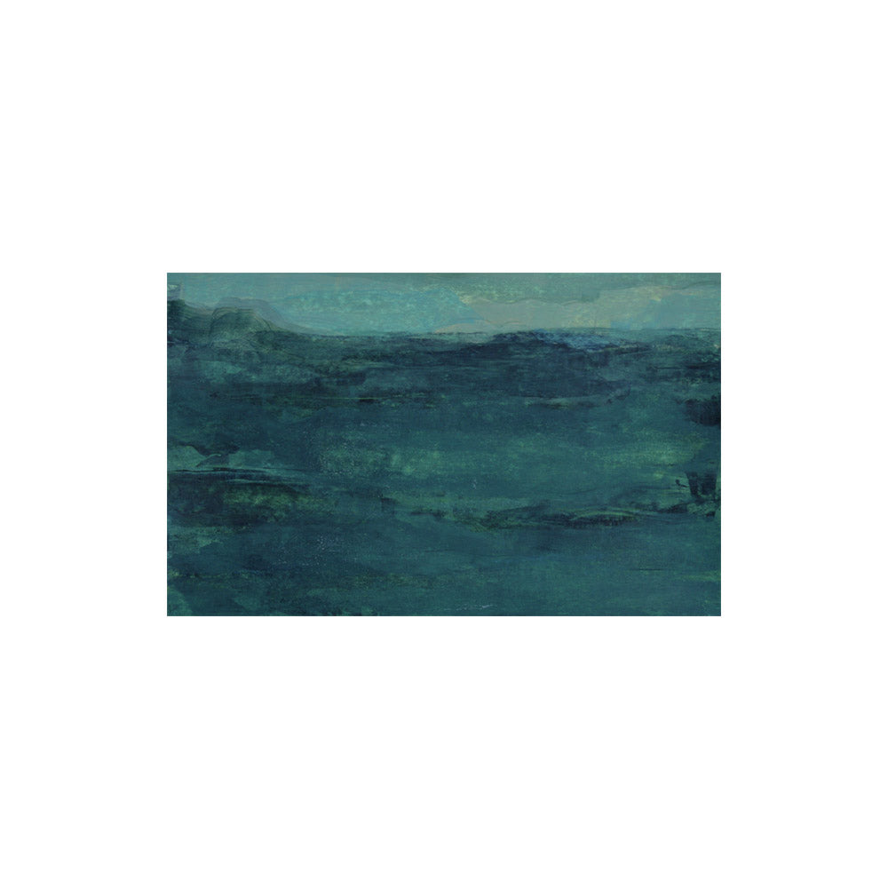 """Waterscape #29"" Unframed Abstract // CLOTH & KIND"