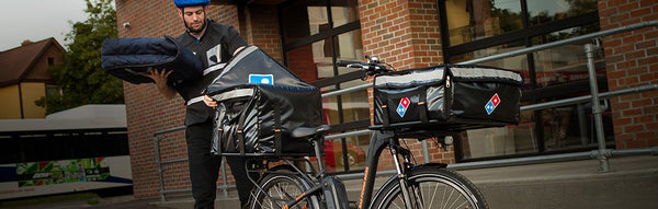Domino's and Rad Power Bikes Launch Ebike Delivery Nationwide