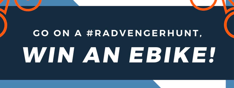 Come on a Radvenger Hunt, Win an Ebike!