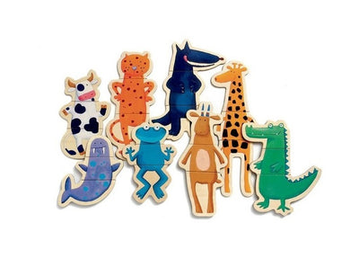 COFFRET MAGNETICS - CRAZY ANIMAUX