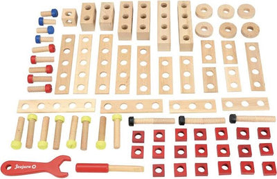 BARIL ETABLI EN BOIS 70 PIECES