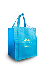 Ono Hawaiian BBQ Teal Tote Bag