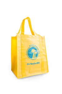 Yellow Ono Hawaiian BBQ Tote Bags