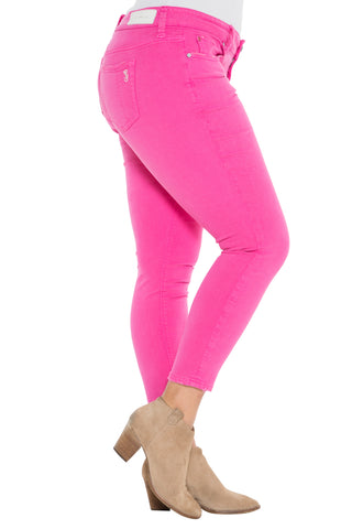 The Ankle Jegging - HOT PINK