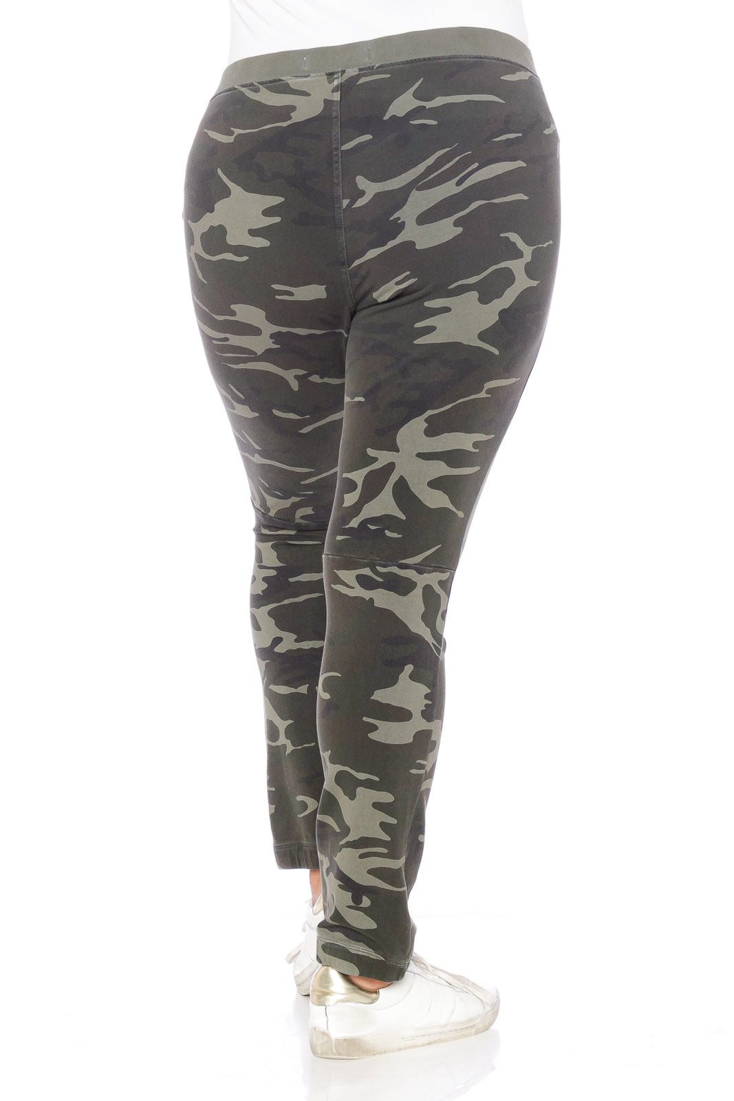 The Super Knit Lounge Pant - OLIVE CAMO