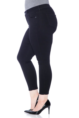 The High Waist Ankle - SOLID BLACK