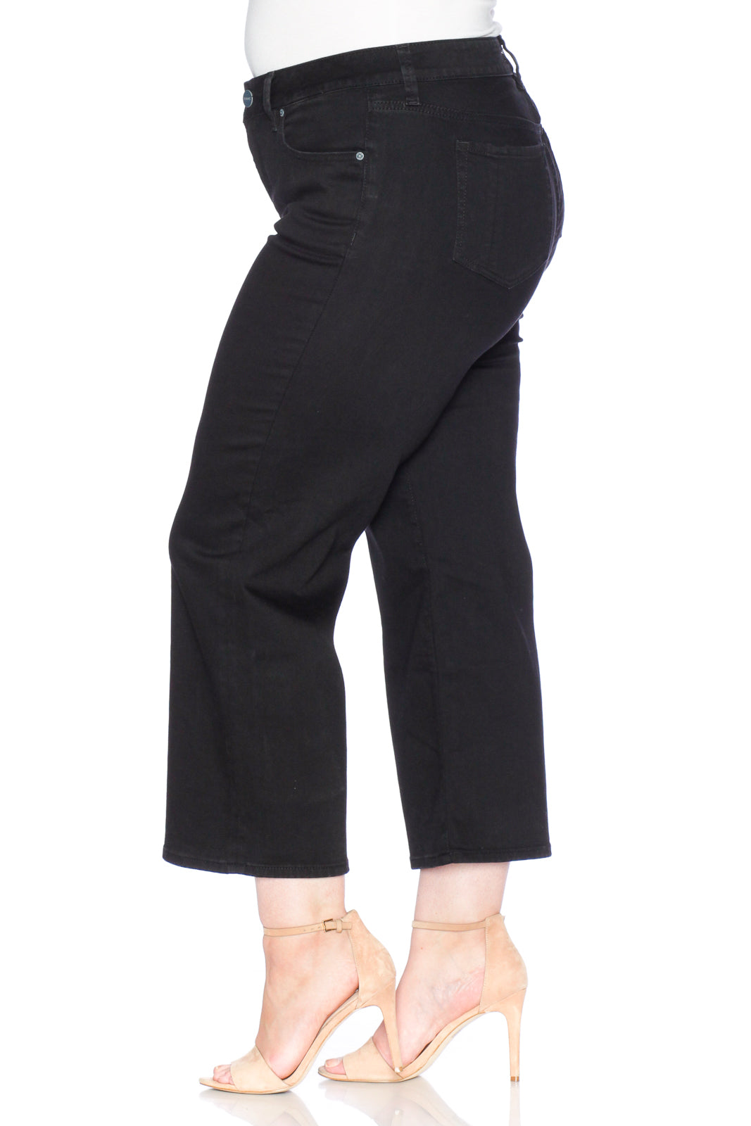 The High Waisted Wide Leg - SOLID BLACK