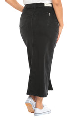 Long Skirt - BLACK