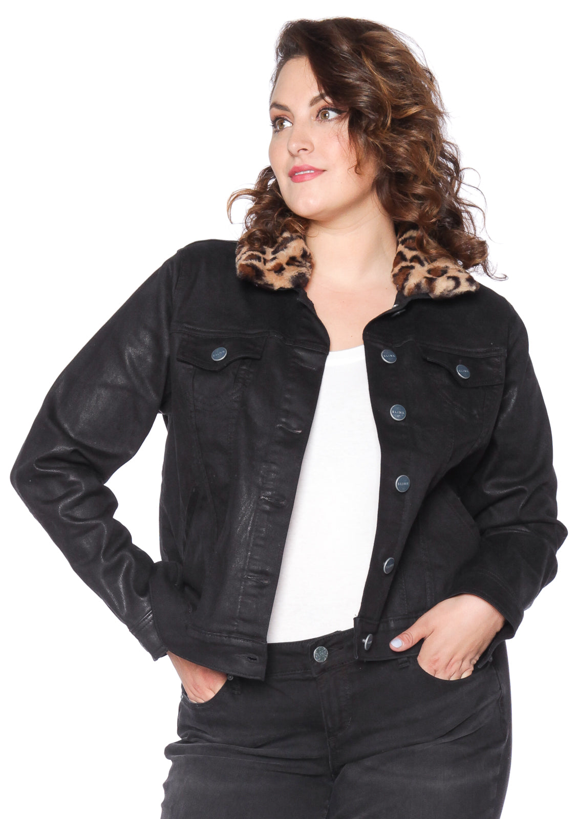 The Coated Jacket with Faux Fur - ZOEY