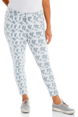 High Rise Jegging - FLORAL ROSES