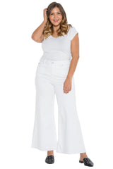 The High Waisted Culotte - WHITE