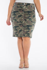 The Skirt- ARMY CAMO