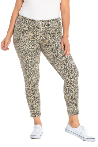 Mid Rise Jegging - CAMO LEOPARD