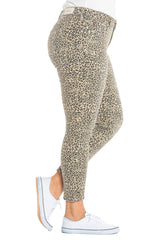 The Mid-Rise Jegging - CAMO LEOPARD