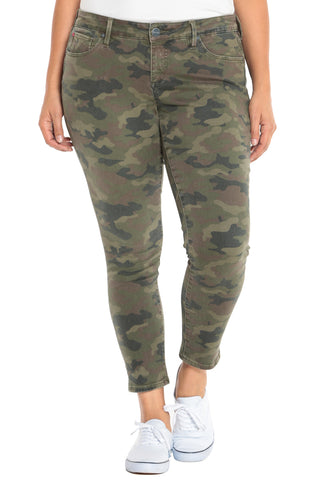 The Mid-Rise Jegging - CAMO