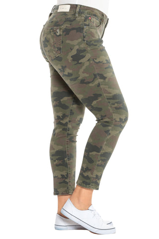 Mid Rise Jegging - CAMO